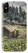 Garden Houses On Daffodil Hill  IPhone Case