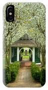 Garden In Full Bloom IPhone Case