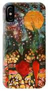 Garden In Moonlight IPhone Case