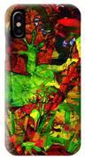 Garden Lizard IPhone Case