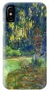 Garden Of Giverny IPhone Case