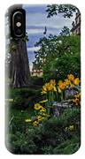 Sunset At Garden Of Les Invalides IPhone Case