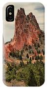 Garden Of The Gods Jagged Peaks IPhone Case