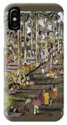Garden Picnic IPhone Case