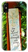 Garden Prayer IPhone Case