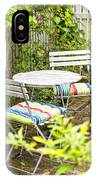 Garden Seating Area IPhone Case