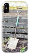 Garden Spade IPhone Case