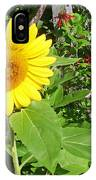 Garden Sunflower IPhone Case