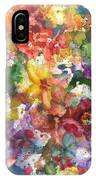Garden - The Secret Life Of The Leftover Paint IPhone Case