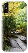 Garden Walkway IPhone Case