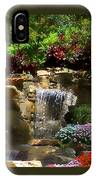 Garden Waterfalls IPhone Case