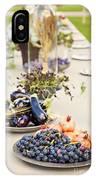 Garden Wedding Table IPhone Case