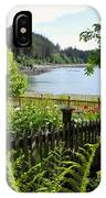Garden With A View IPhone Case