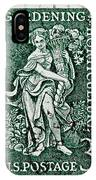 Gardening And Horticulture Vintage Postage Stamp Print IPhone Case