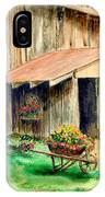 Gardening Shed IPhone Case
