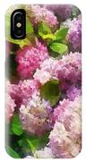 Gardens - Pink And Lavender Hydrangea IPhone Case
