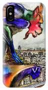 Gargoyle Of Color IPhone Case