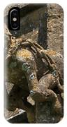 Gargoyle On The Church Of St Mary At Sudeley Castle IPhone Case