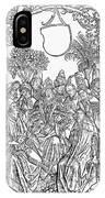 Gart Der Gesuntheit, 1485 IPhone Case