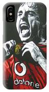 Gary Neville - Manchester United Fc IPhone Case