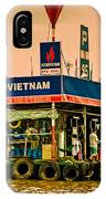 Gas Station Vietnam Style IPhone Case