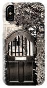 Gate 69 Charleston Sc IPhone Case
