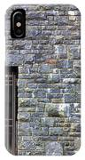Gate Entrance On Stone Wall IPhone Case