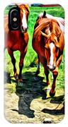 Gate Horse IPhone Case