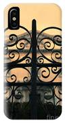 Gate In Front Of Mansion IPhone Case