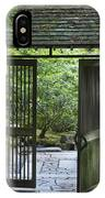 Gates Of Tranquility IPhone Case
