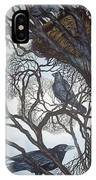 Gathering A Murder Of Crows I IPhone X Case