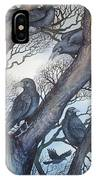 Gathering A Murder Of Crows II IPhone X Case