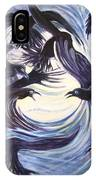 Gathering Of The Ravens IPhone Case