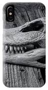 Gator Black And White IPhone Case