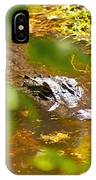 Gator On The Move IPhone Case