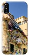 Gaudi Apartment IPhone Case