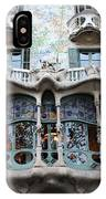 Gaudi Architecture 3 Barcelona Spain IPhone Case