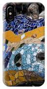 Gaudi Dragon IPhone Case
