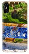 Gaudi's Park Guell - Impressions Of Barcelona IPhone Case