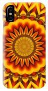 Gazania Kaleidoscope IPhone Case