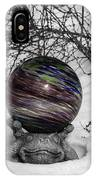 Gazing Ball Squared IPhone Case