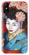 Geisha Girl IPhone Case