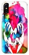 Gene Simmons Paint Splatter IPhone Case