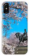 General In The Cherry Blossoms IPhone Case