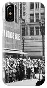 General Patton Ticker Tape Parade IPhone Case