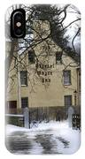 General Wayne Inn In Winter IPhone Case