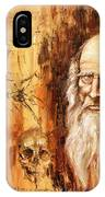 Genius   Leonardo Da Vinci IPhone Case