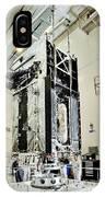 Geo-1 Satellite In Lab IPhone Case