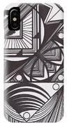 Geo Doodle IPhone Case