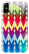 Geometric Colors  IPhone Case
